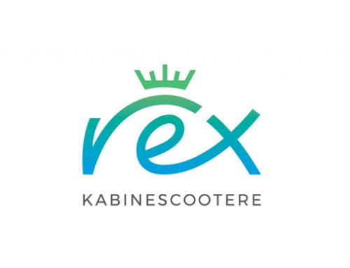 REX kabinescootere logo